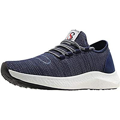 BenSorts Men's Tennis Shoes Comfortable Wal...