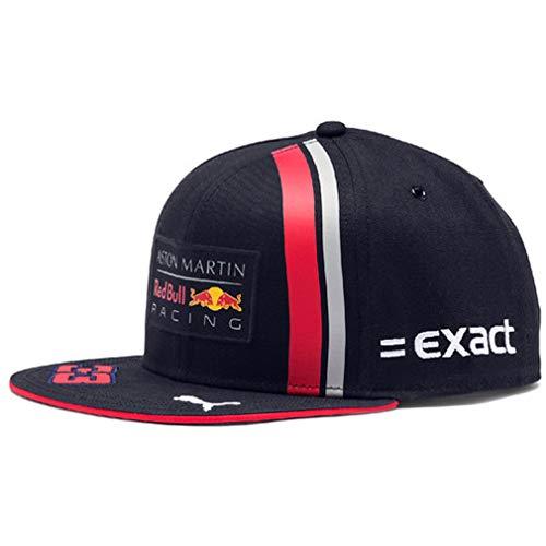 Red Bull Racing Max Verstappen Driver Flat Cap, Blau Unisex One Size Flat Cap, Aston Martin Formula 1 Team Original Bekleidung & Merchandise