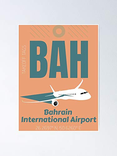 Situen Bah Bahrain International Airport Poster - No Frames Wall For House Decoration