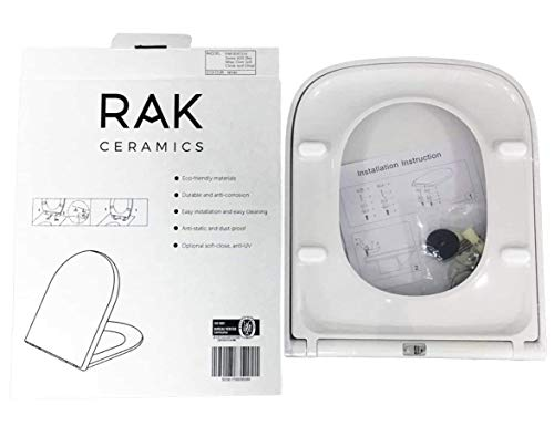 New Slimline RAKSEAT014 Quick Release Soft Close WRAP Over Toilet SEAT for Series 600
