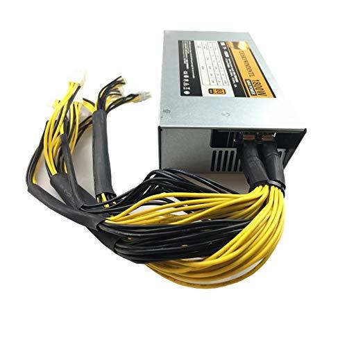 SAUJNN 1800W ATX Power Supply 1800W Mining Gold PSU BTC LTC Dash BITMAIN APW71800w Power Supply BITMAIN APW3 PSU Series ETH PSU pico