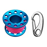 IPOTCH Scuba Diving Reel, Mulinello da Sub Finger Reel Spool per Subacque, Immersione - Bl...