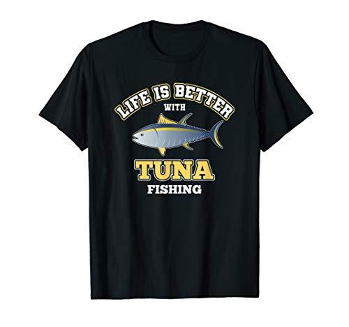 Herren Cooles Thunfisch Angeln T-Shirt