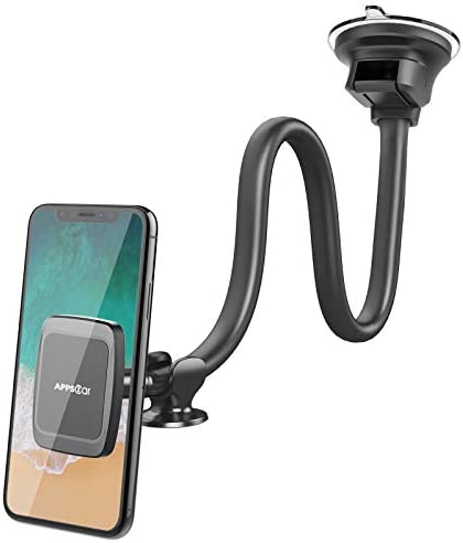 Magnetic Truck Car Phone Mount with 13 inch Flexible Long Arm Anti Shake Cell Phone Holder for product image