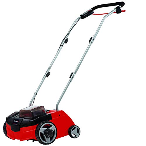 Einhell GC-SC Power-X-Change 36-Volt Cordless 12-Inch Scarifier and Dethatcher, Tool Only (Battery and Charger Not Included)