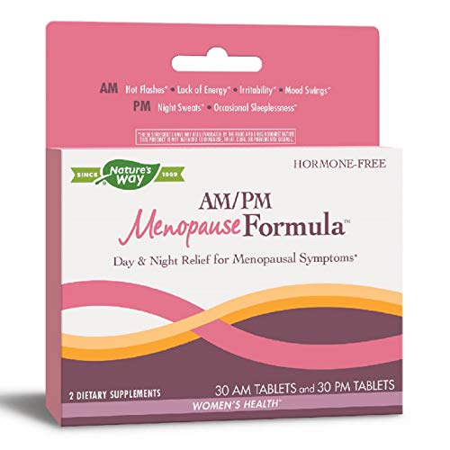 Enzymatic Therapy AM/ PM Menopause Hormone-Free Formula Daytime Energy...