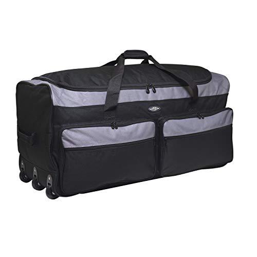 "Travelers Club 36"" 3-Wheel Rolling Expandable Duffle Bag"