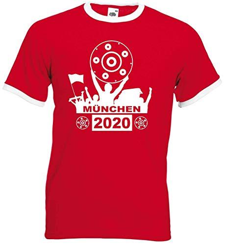 München Herren Meister Schale 2020 Ultras Retro-Shirt
