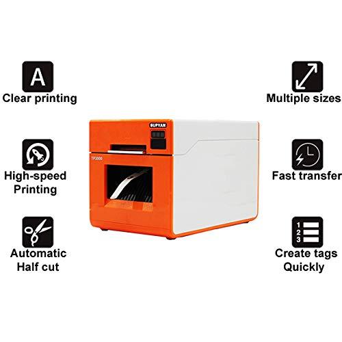 TANCEQI Thermodrucker Bondrucker Belegdrucker Quittungsdrucker Schrumpfschlauch Drucker Auto-Cut, Unterstützung Winxp / Win7 / Win8 / Vista / Win10