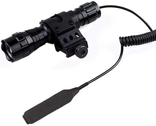 1000 lm tactical flashlight - 7