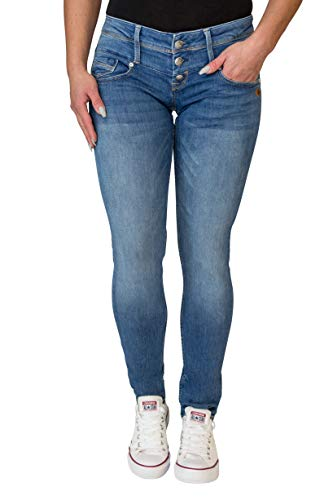 Lost in Paradise Celina Superslim Blue Shadow Jeans Damen Denim (28/32)