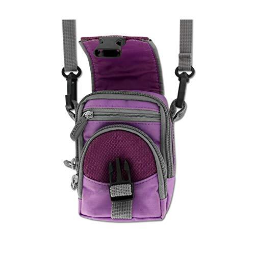 Purple Storage Case and Shoulder Strap for ZTE z432 Phone