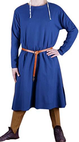 Armour Shop Medieval Knight Fantasy Blue Viking,Celtic Norseman Eeven Mens Tunic Surcoat LARP,SCA Size XXXXL