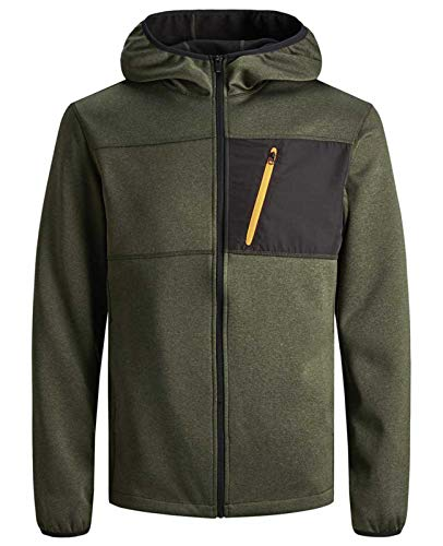 JACK & JONES Herenjas Outdoor Sport Fitness fiets sweatjas Sona