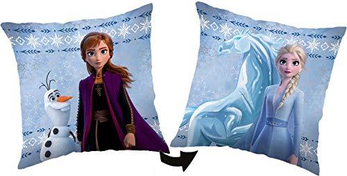 Coussin La Reine des Neiges Anna Elsa Olaf - Frozen Cadeau Décoration Maison - 128