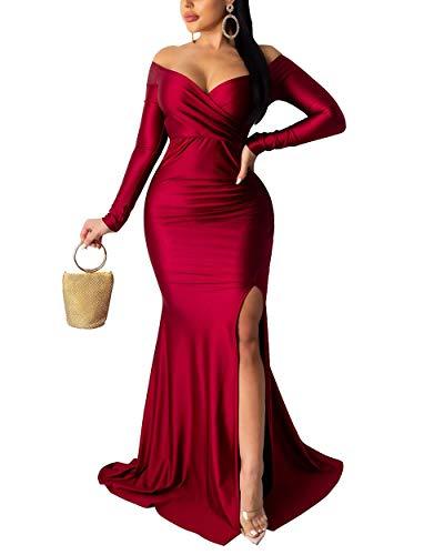 Off the Shoulder Basque Ballgown Wedding Dress