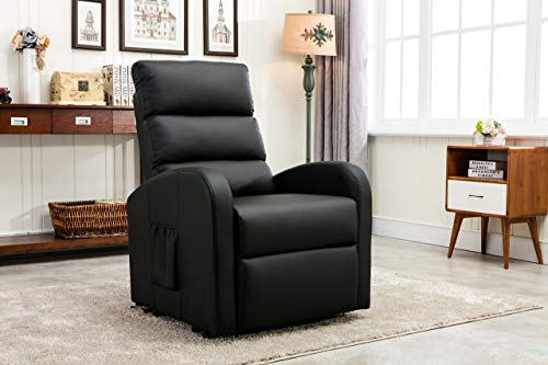 Divano Roma Furniture Power Lift Recliner Living Room Chair
