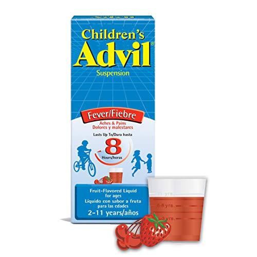 Advil Children's Liquid Pain Relief Medicine and Fever Reducer, 4 Fl Oz