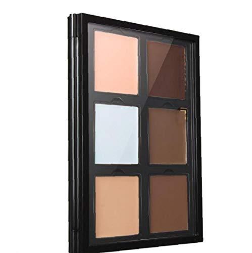 Palette Correctrice 6 Couleurs Visage Contournage Surligneur Palette Correcteur Fondation Maquillage Cosmétiques Palette Palette Style-b Invisible Pores Crème