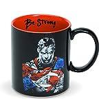 Enesco DC Comics Ceramics Superman Be Strong Coffee Mug, 16 Ounce, Multicolor