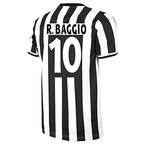 Copa Juventus Home R. Baggio 10 Retro Trikot 1994-1995 - L