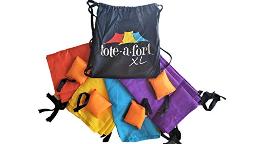 TOTE A FORT XL Blanket Fort Kit for Kids, The...