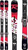 Rossignol Hero Jr 130-150 Xpress 7 Gw B8 Esquís con fijación, Niños, Negro/Rojo, 130 cm