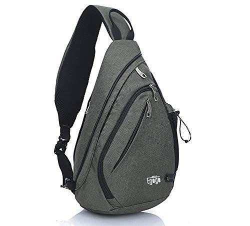 EGOGO Multifunktions Schultertasche Rucksack Crossbody Tasche Sling Tasche Wandern...