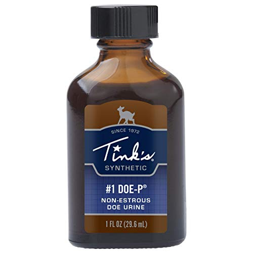 Tinks 1 Doe-P Scent Synthetic 1 oz, Brown