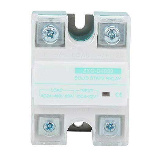 Zyg-D4880 Einphasiges Wechselstrom-Halbleiterrelais Mit Led-RöHrenanzeige 80A, 4-32 V Eingangsverteilung Und SteuerungsausrüStung