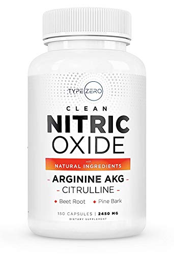 Clean Nitric Oxide Supplement [2450mg] Beetroot, Citrulline L Arginine...