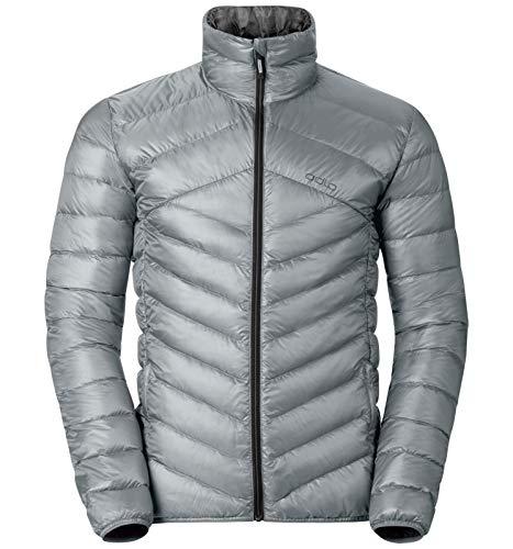 Odlo Jacket Air Cocoon Chaqueta, Otoño-Invierno, Hombre, Color Plata, tamaño Small