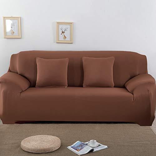 Funda de sofá elástica para Sala de Estar, Toalla de sofá, Funda de sofá Antideslizante y a Prueba de Polvo, Funda de sofá elástica A9, 2 plazas