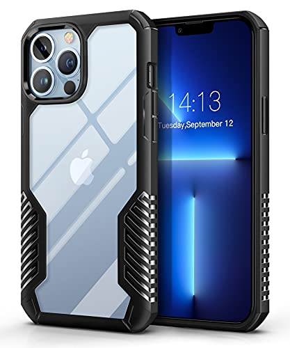 MOBOSI Compatible with iPhone 13 Pro Max Case 2021, Vanguard Armor Protective Phone Case Cover, Military Grade Heavy Duty Shockproof Slim...
