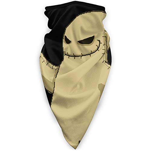 Face Mask The Nightmare Before Christmas Oogie Boogie for Windproof Dust Men Child Running Black