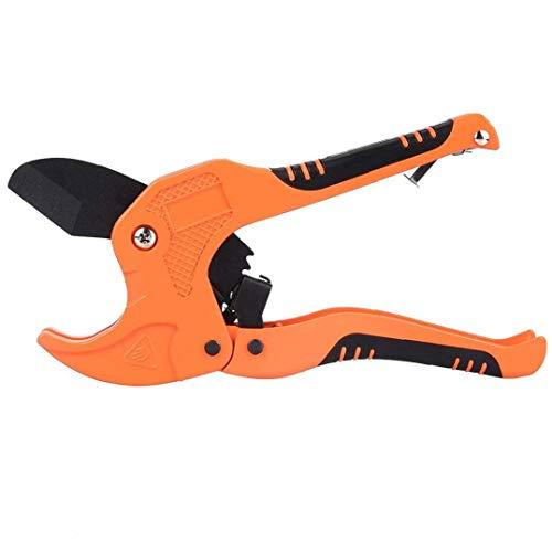 TOPofly PVC-Rohrschere Rohrschere Ppr Klempner Schere Einhandschnellrohrschere Werkzeug Ratschen Antrieb Praktische Werkzeuge