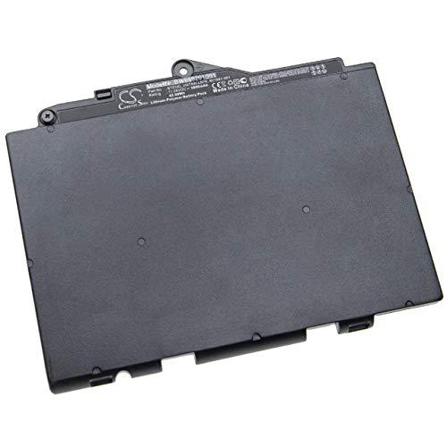 vhbw Akku passend für HP EliteBook 820 G4 Z2V78EA, 820 G4 Z2V79EA, 820 G4 Z2V91EA Notebook (3800mAh, 11.55V, Li-Polymer, schwarz)