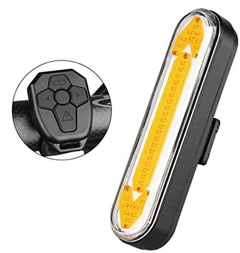 No logo Intelligent Remote Fahrradrücklicht, Blinker Mountainbike in der Nacht LED Warnblinkleuchten Dazzle, mit USB-Lade