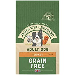 James Wellbeloved Complete Dry Adult Dog Food Turkey and Vegetable, 10 kg