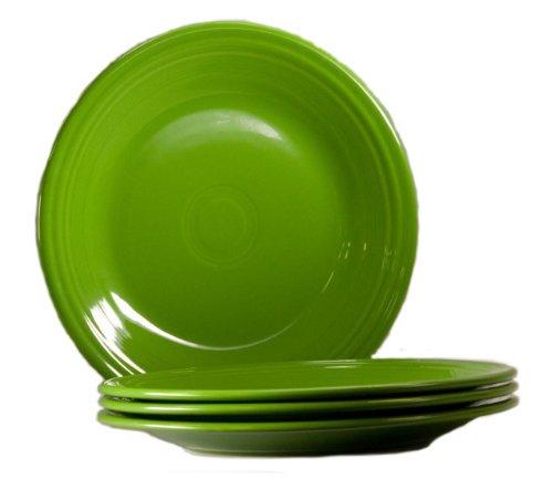 Fiesta 10-1/2-Inch Dinner Plate, Shamrock, Set of 4
