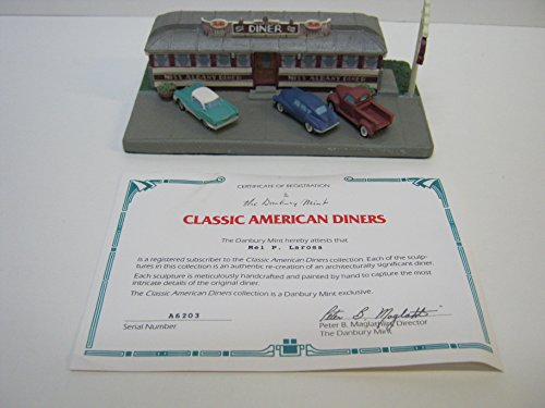 Classic American Diners Miss Albany Diner Albany New York Danbury Mint 1993