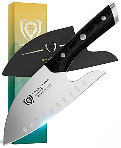 DALSTRONG Guardian Chef Knife - 8' - Gladiator Series - Ergonomic Design - Razor Sharp - Forged ThyssenKrupp High Carbon German Steel - Full Tang - w/Sheath