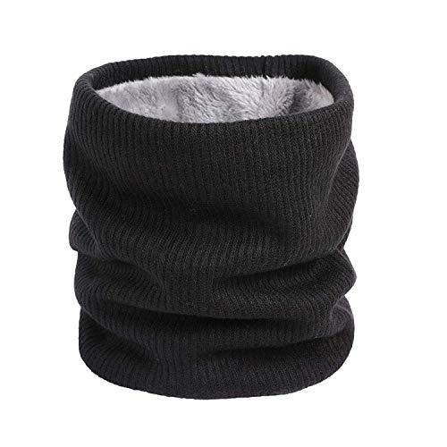 Scarf Soft Men Women Scarf Winter Warm Cotton Scarves Collar Bandanas,Black