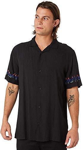 Globe Blazed SS Shirt Camiseta, Hombre, Black, XL