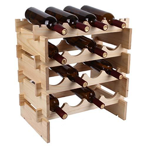 Vinoteca 4 Botellas de Pie Marca LTLWSH