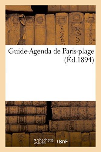 Guide-Agenda de Paris-plage