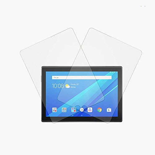 Mizi Screen Protector for Lenovo Tab 4 10 (2 Pack) Tempered Glass Guard Invisible Shield Case (Clear, Matte, Anti Glare, Anti Bubble, Anti Scratch, Full Glue) Paperlike Film Cover Accessories
