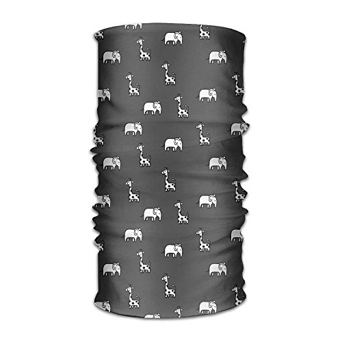 Voxpkrs Drawing Sloth Play The Piano Headwear Bandanas Multifunctional Headscarf