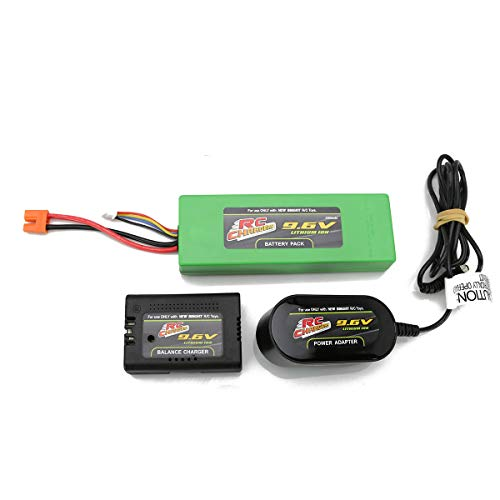 Official 9.6 Volt 2200 mAH Lithium Ion RC Chargers Rechargeable Battery Pack and Charger Included | Fits RC Pro Brushless Beast | Also Works with New Bright Frenzy, Model #81060