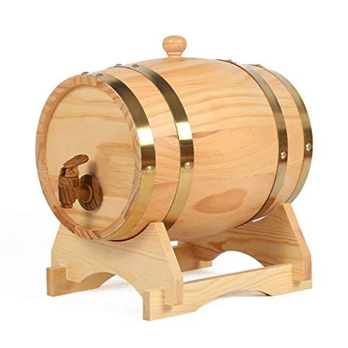 Home Bar Weinglasregal Schrank Eiche Fass Weinfass Wein Rotweinfass Haushalt mit Wasserhahn gebrauten Wein